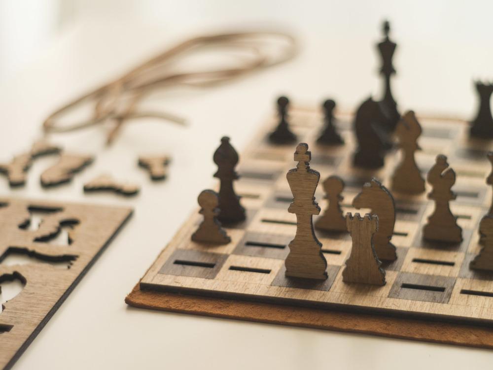 Got Chess Laser Cut Flat Pack Chess Set By Peter Baeten