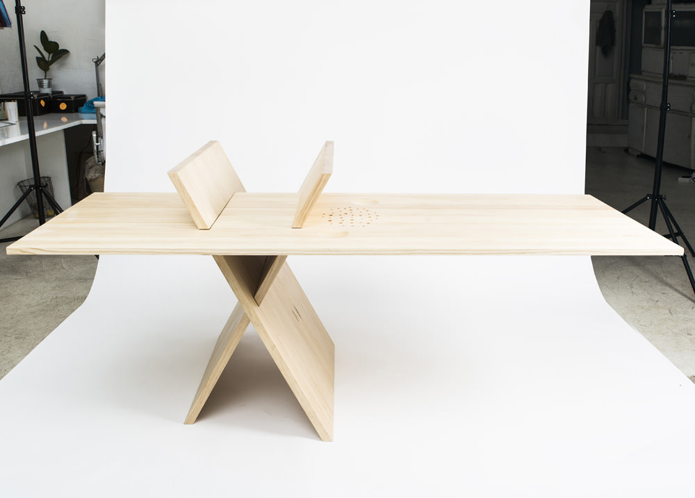Off-centred XTABLE by MAYICE
