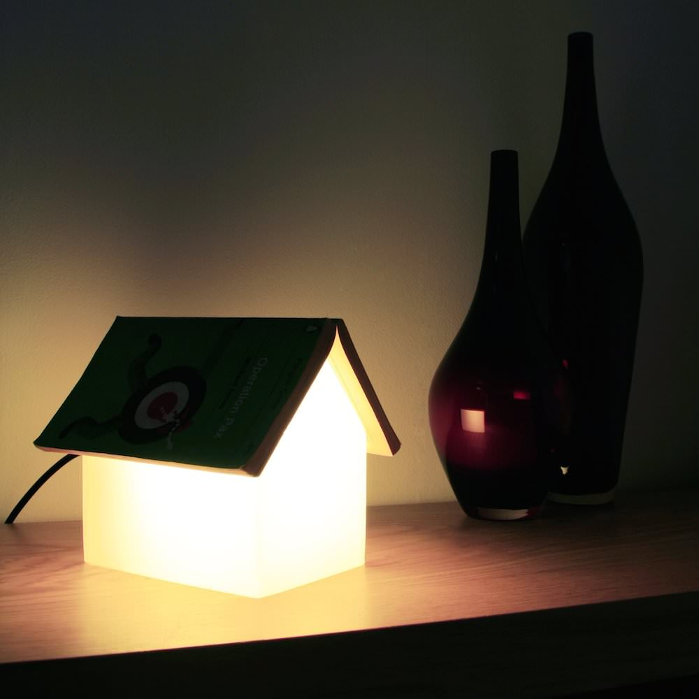 Book Rest Lamp, a Lamp for Your Books