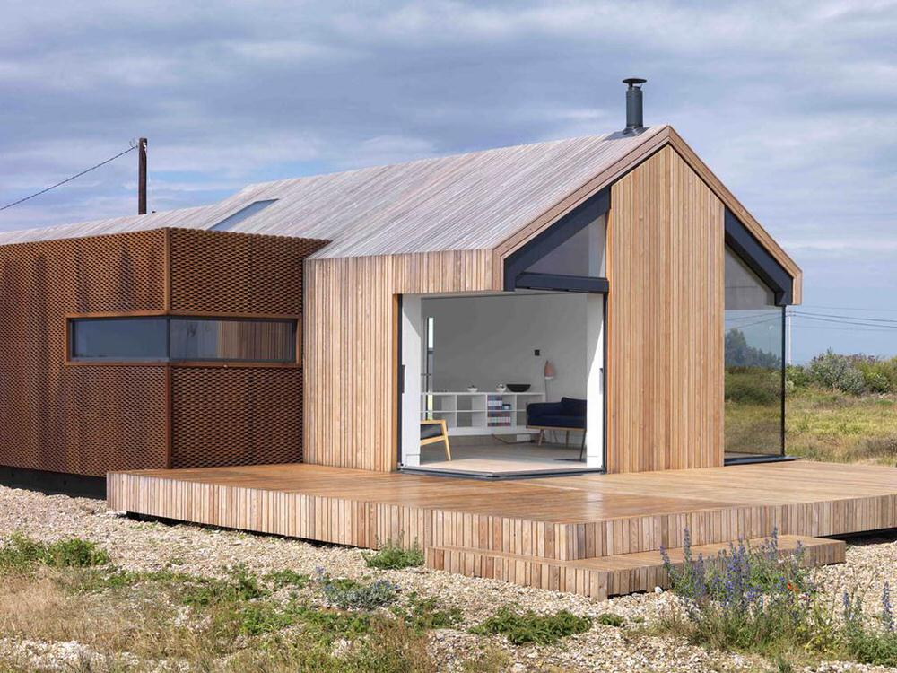 loft conversion ideas kent - Pobble House in Dungeness by Guy Hollaway Architects Homeli